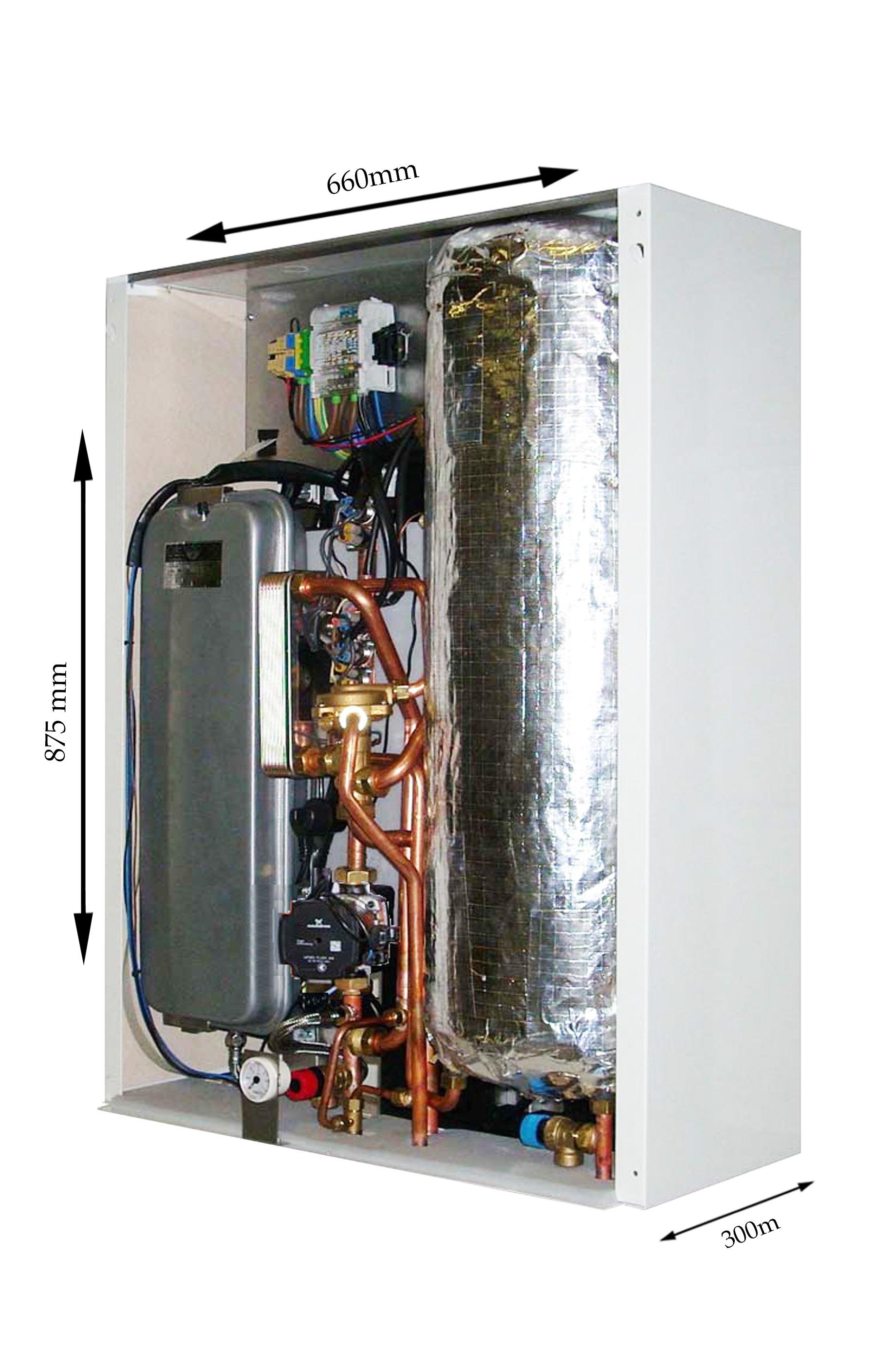 Ek Bp 12kw Electric Combi Boiler With Inbuilt Cylinder