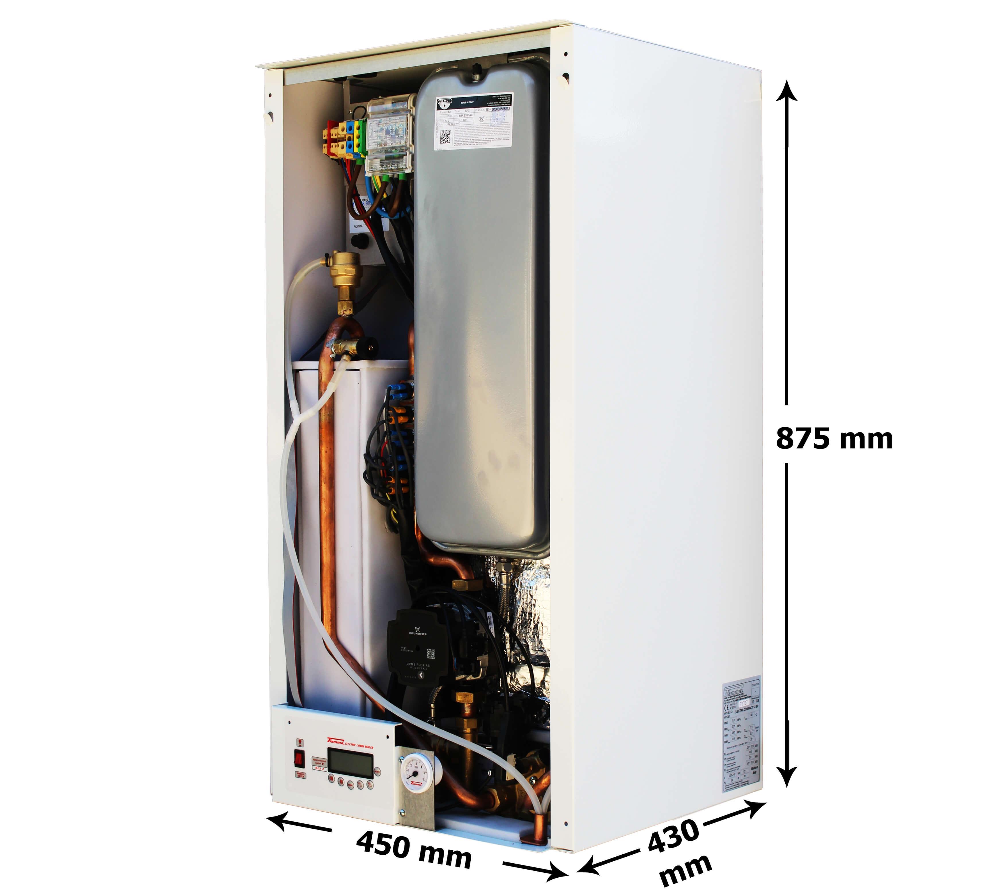 Ek Bpc 12kw Electric Combi Boiler With Inbuilt Cylinder